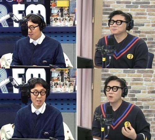 '김영철의 파워 FM' 김영철-이상민./ 사진=SBS 방송화면