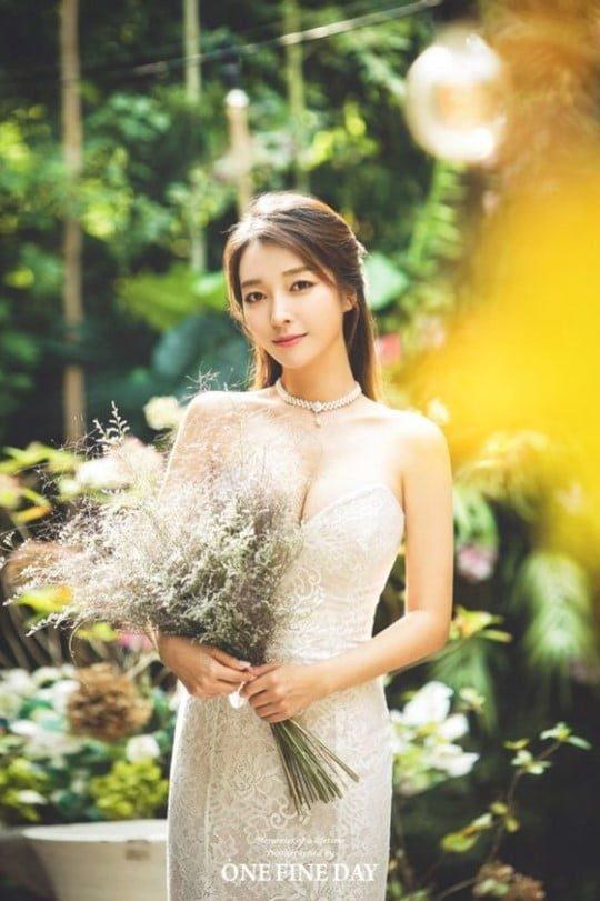 이상미, 순백의 웨딩드레스 자태...오는 23일 결혼