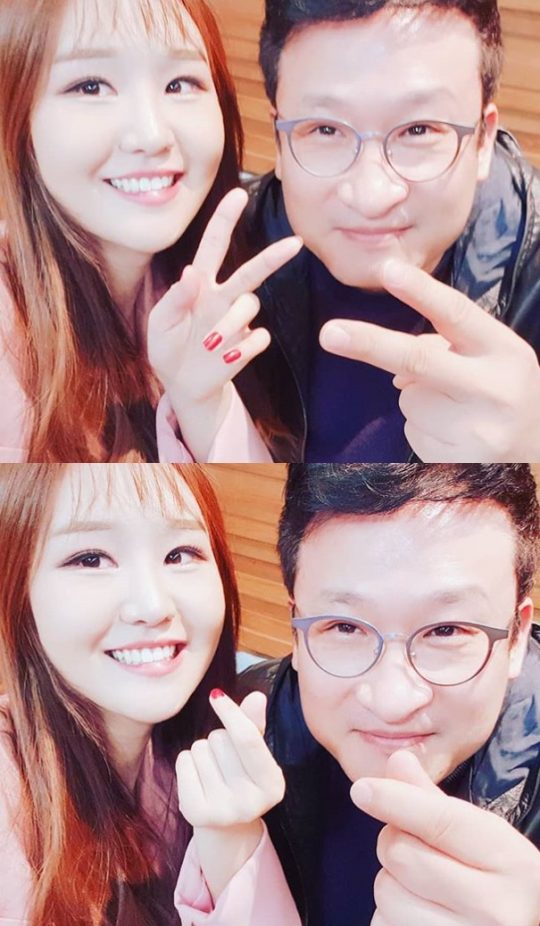 윤수현-서경석./ 사진=인스타그램