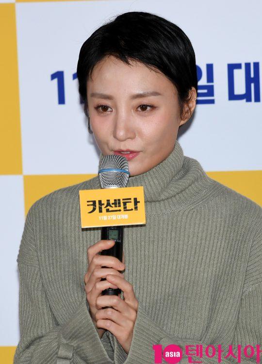 남편의 생계형 범죄에 가담하게 되는 아내 순영 역을 맡은 배우 조은지. /조준원 기자 wizard333@