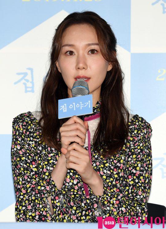 배우 이유영이 18일 오후 서울 한강로 CGV용산아이파크몰에서 열린 영화 '집 이야기' 언론시사회에 참석했다. /조준원 기자 wizard333@