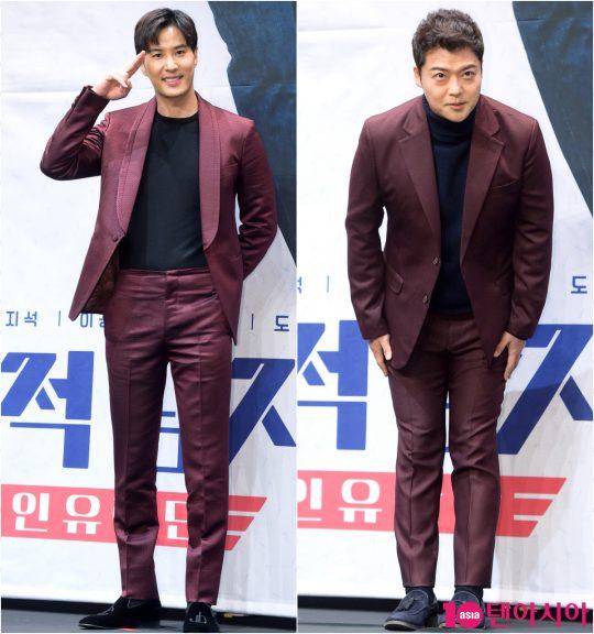 배우 김지석, 방송인 전현무