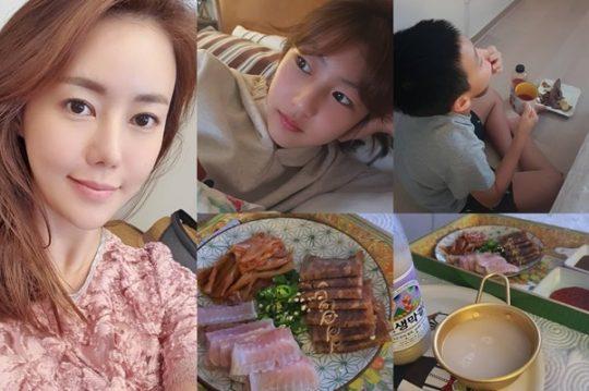 배우 박연수 가족./ 사진=인스타그램