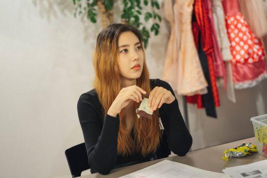 KBS2 수목드라마 '동백꽃 필 무렵'의 배우 손담비 스틸컷. / 사진제공=팬 엔터테인먼트