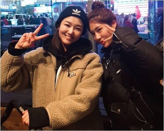 가수 정미애(왼쪽), 김소유./ 사진제공=정미애 공식 SNS