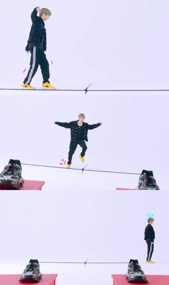 그룹 투모로우바이투게더 범규의 'Angel Or Devil' 티저 / 사진제공=빅히트엔터테인먼트
