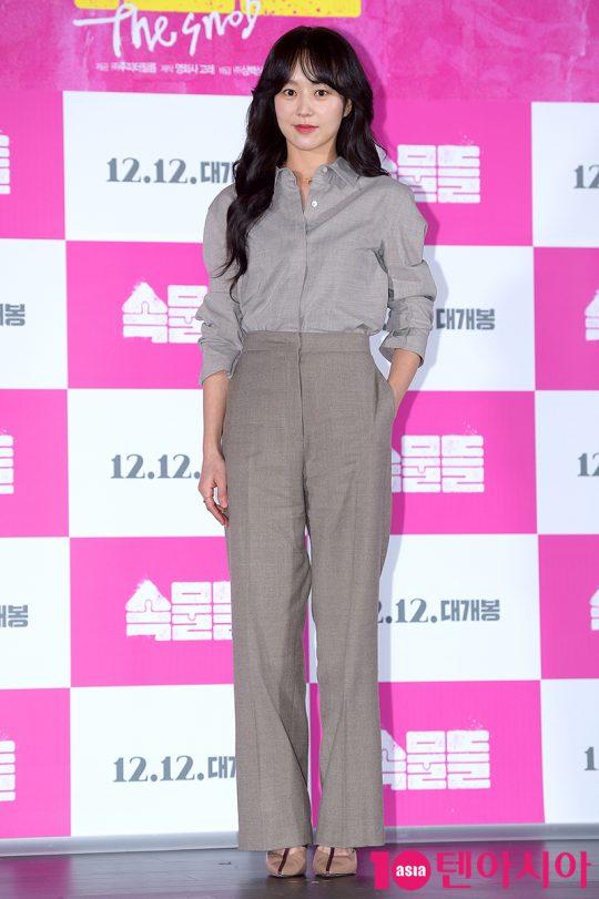 영화 '속물들'에서 뻔뻔하면서도 당당한 미술작가 선우정으로 열연한 배우 유다인./ 서예진 기자 yejin@