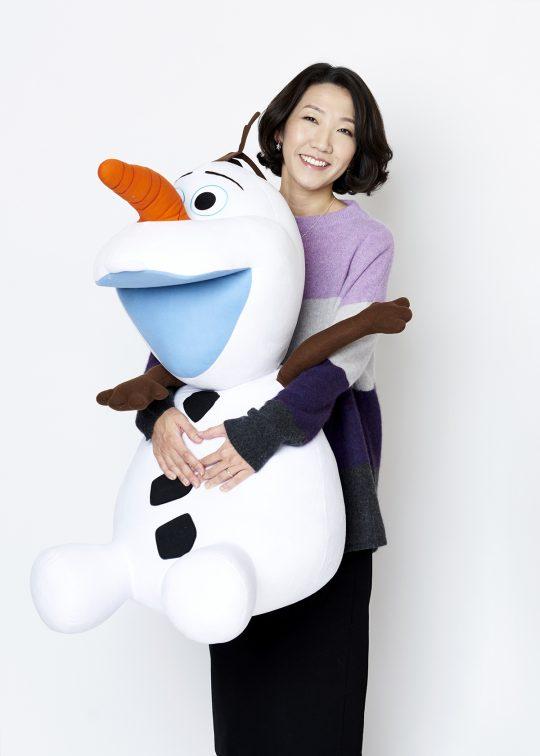 '겨울왕국2'에서 안나 캐릭터를 담당한 이현민 슈퍼바이저. /사진제공=월트디즈니 컴퍼니 코리아