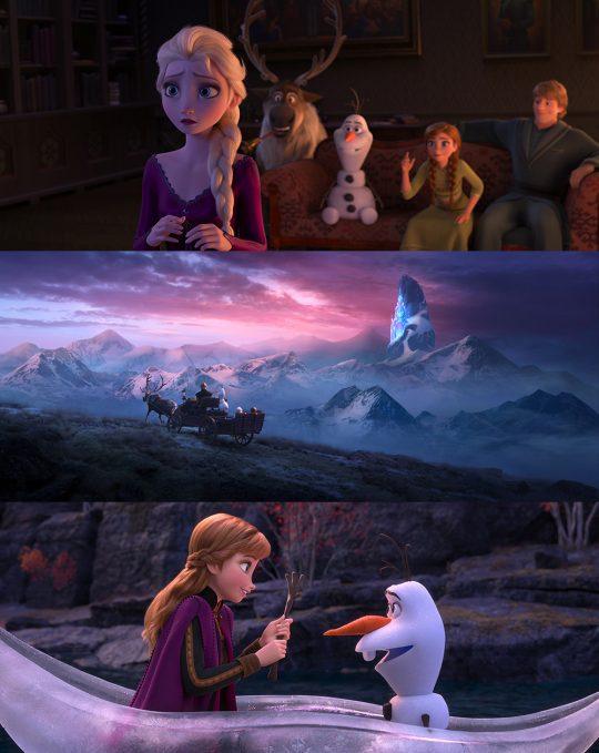 '겨울왕국2'에서는 전편보다 각 캐릭터들이 갖고 있는 이야기가 더 풍부해졌다. /사진제공=월트디즈니 컴퍼니 코리아
