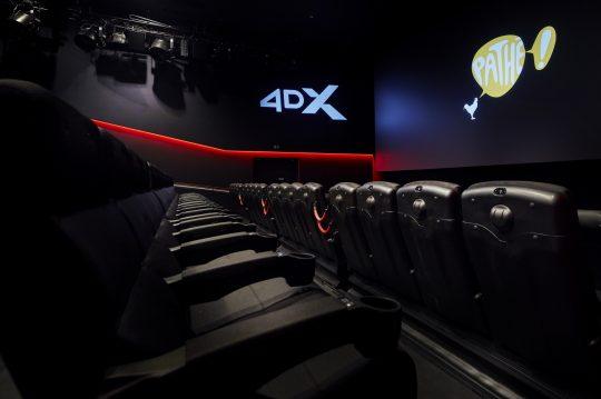 네덜란드 '파테 위트레흐트 라이드쉬 라인 극장'에 개관한 CGV 4DX관 700호점. /사진제공=CJ CGV
