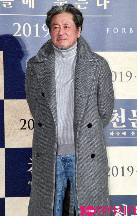 영화 '천문: 하늘에 묻는다'에서 장영실을 연기한 배우 최민식./ 조준원 기자 wizard333@