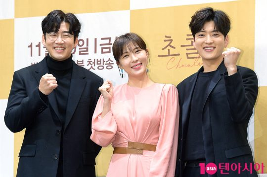 배우 윤계상(왼쪽부터), 하지원, 장승조. / 서예진 기자 yejin@