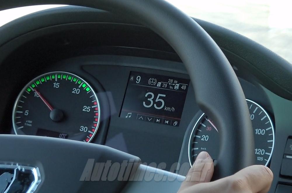 [시승]차박도 가뿐, 만 TGX 28.500 이피션트라인3