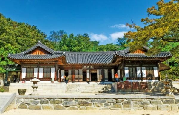 시인 백석의 흔적이 묻어있는 성북동 길상사