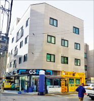 경북 구미시 중심상업지 앞  수익형 상가주택