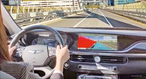 내비도 증강현실로 본다…현대차 인포테인 시스템, 제네시스 GV80에 첫 적용