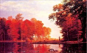 [그림이 있는 아침] 비어슈타트 '가을 숲'