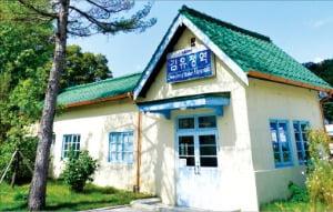 문학의 향기를 느낄 수 있는 김유정역
