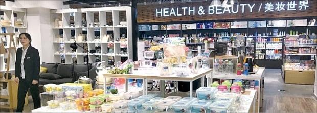 삼광글라스 '글라스락 베이비' 제품을 판매하는 중국 내 매장 전경.  /삼광글라스 제공