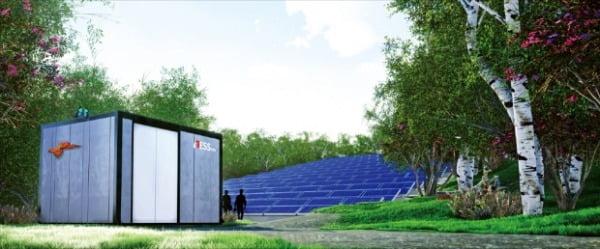 비에이에너지가 개발한 에너지저장장치(ESS) 안전관리시스템 'ESS에너지홈'.