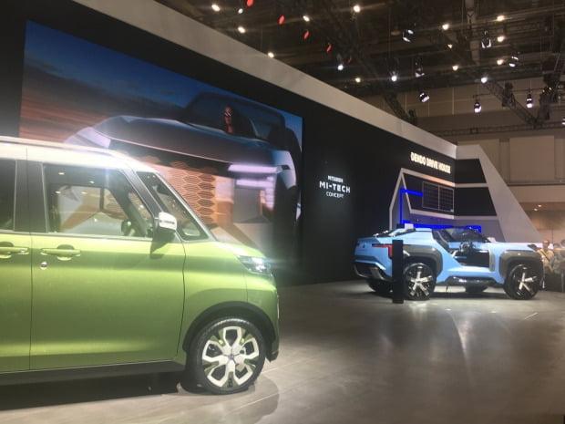일본 자동차 업체들만 주로 참여해 위상이 많이 추락한 '도쿄모터쇼 2019'