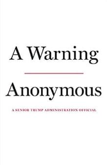 익명의 미국 당국자가 펴낸 신간 <경고>