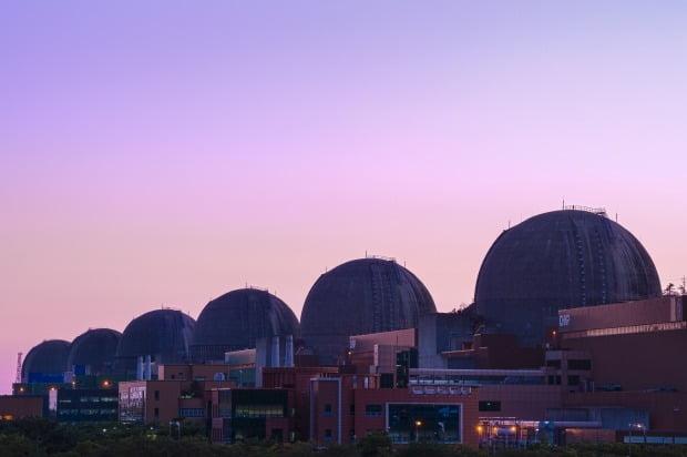 전남 영광군에 위치한 한빛원자력발전소 전경. 한국수력원자력