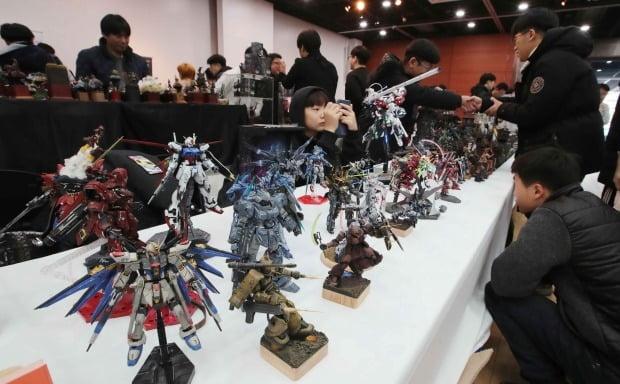 한국모델러들의 축제 IPMS Korea 전시회. IPMS Korea 제공
