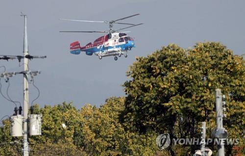 광양함·청해진함 헬기추락 독도 해역 동시 수색…잔해물 발견