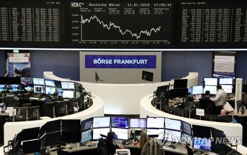 [유럽증시] 미중 무역협상 기대 속 일제히 상승