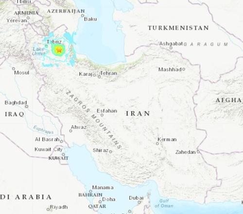 이란 북서부서 규모 5.9 지진…5명 사망·300여명 부상(종합)