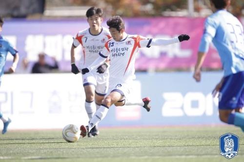 화성FC, K3리그 챔프전 1차전서 양평FC에 1-0 승리