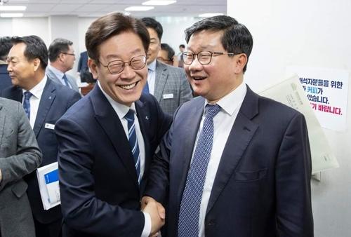 전해철, 대법에 이재명 탄원서 제출…全·李, 10일 만찬회동(종합)
