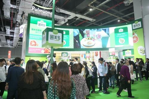 풀무원, 국제박람회서 두부·김치로 中 소비자 공략