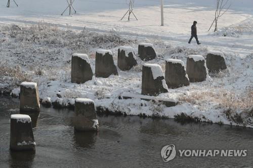 양주 장흥 응달천 대전차 방어시설 '용치' 철거