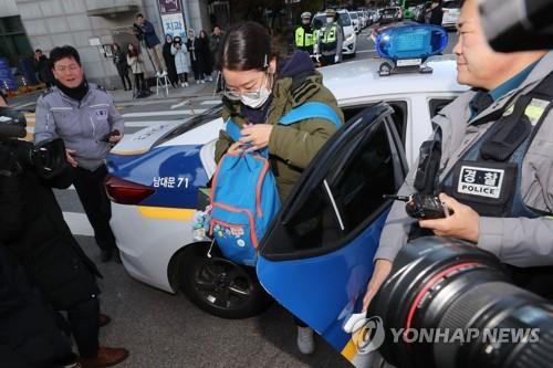 '한파도 못 이긴' 수능 열기…전국 고사장 뜨거운 응원전