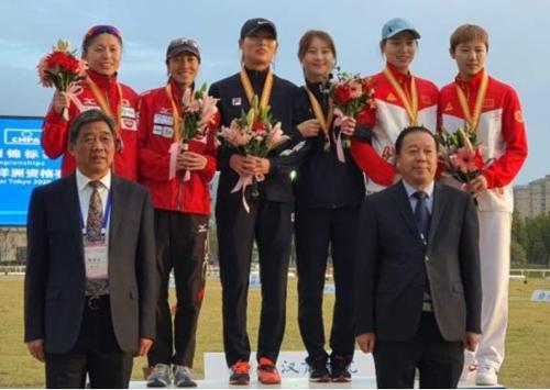 김선우-김은주, 근대5종 아시아선수권대회 여자 계주 우승