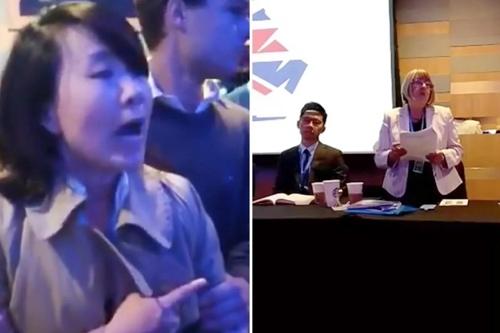 영국 보수당 '홍콩 토론회'서 뺨 때린 CCTV 특파원에 집행유예