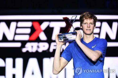 18세 시너, 정현-치치파스 이어 ATP 넥스트 제너레이션 우승