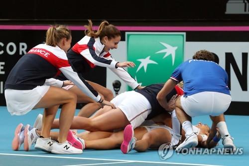 프랑스, 여자테니스 국가대항전 페드컵 우승