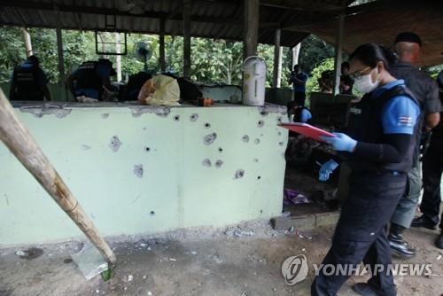 태국, 검문소 습격해 민병대 15명 숨지게 한 반군 7명 체포