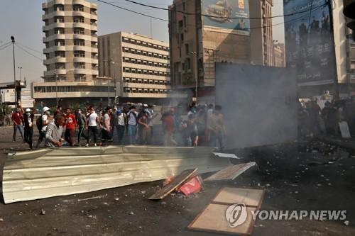 유엔, 이라크에 사회안정안 권고…'학살급 시위진압' 우려