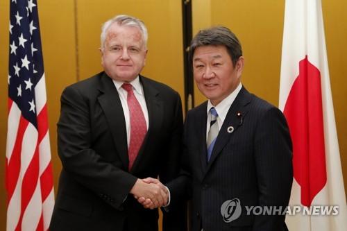 """美국무부 부장관·日외무상…""""한미일 협력 계속 약속"""""""