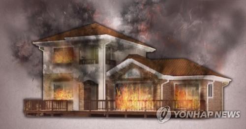 강릉 단독 주택서 불…90대 노인 1명 부상