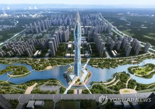 인천 청라시티타워 21일 착공식…국내 최고 전망용 건물