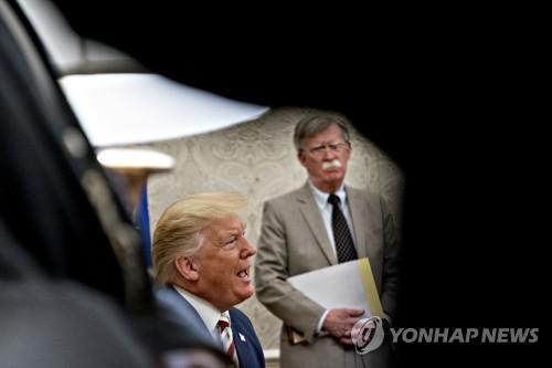 """볼턴, 탄핵조사 폭탄증언?…""""미공개 대화·만남 정보 많아""""(종합)"""
