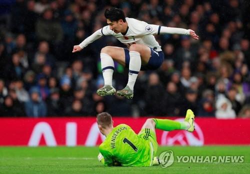 손흥민 리그 3호골 폭발…토트넘, 셰필드와 1-1 무승부