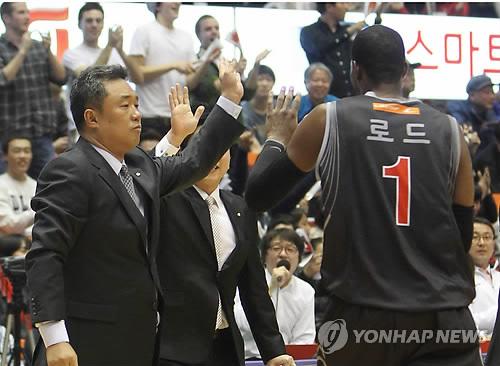 프로농구 KCC, 찰스 로드 영입…전창진 감독과 4년여 만에 재회