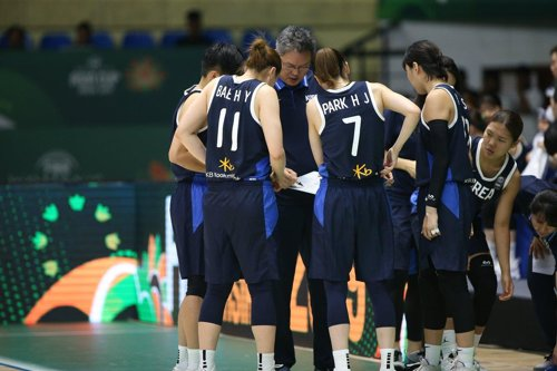 올림픽 예선 출전 여자농구 대표팀, 11일 뉴질랜드로 출국(종합)