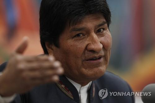 """모랄레스 퇴임에 연대하는 중남미 좌파 지도자들…""""쿠데타"""" 규탄(종합)"""